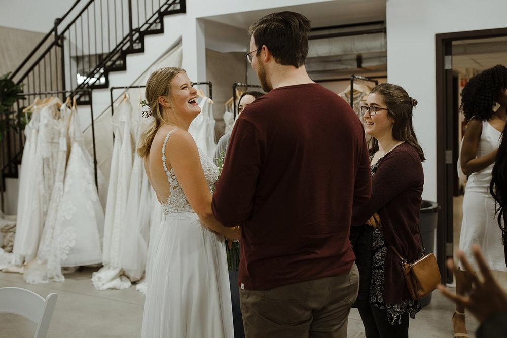 spokane wedding dress fashion show after friends
