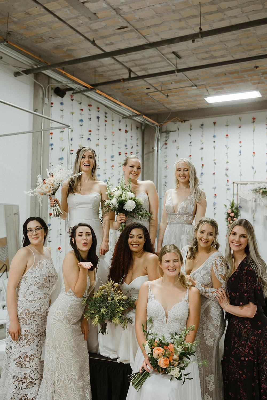 spokane wedding dress all models post fashion show owner cassie david