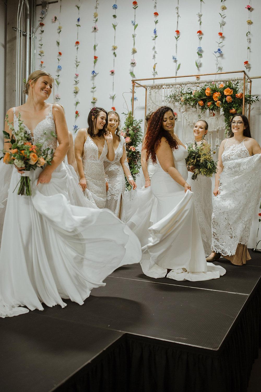 spokane wedding dress all brides fashion show dancing runway
