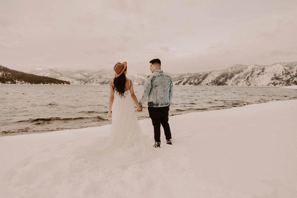 winter wedding dress spokane idaho