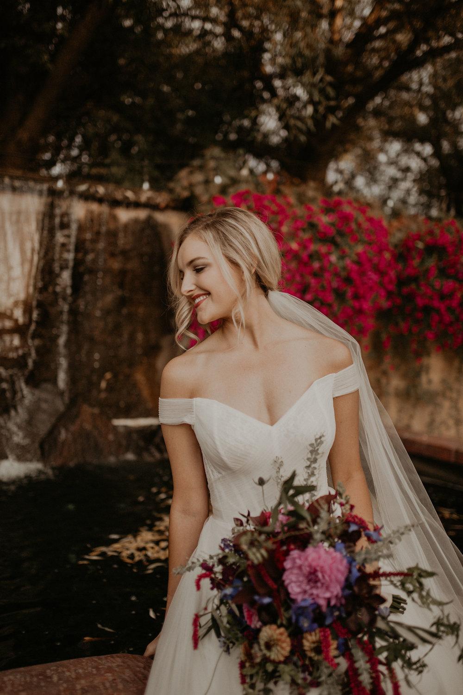 english netting tulle wedding dress spokane bride