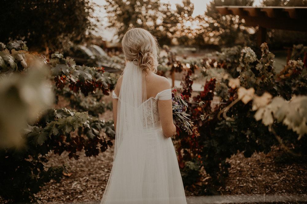 wedding bridal hair train veil long spokane