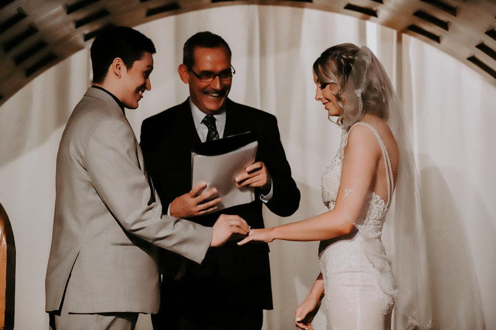 bride and groom spokane wedding bridal shop