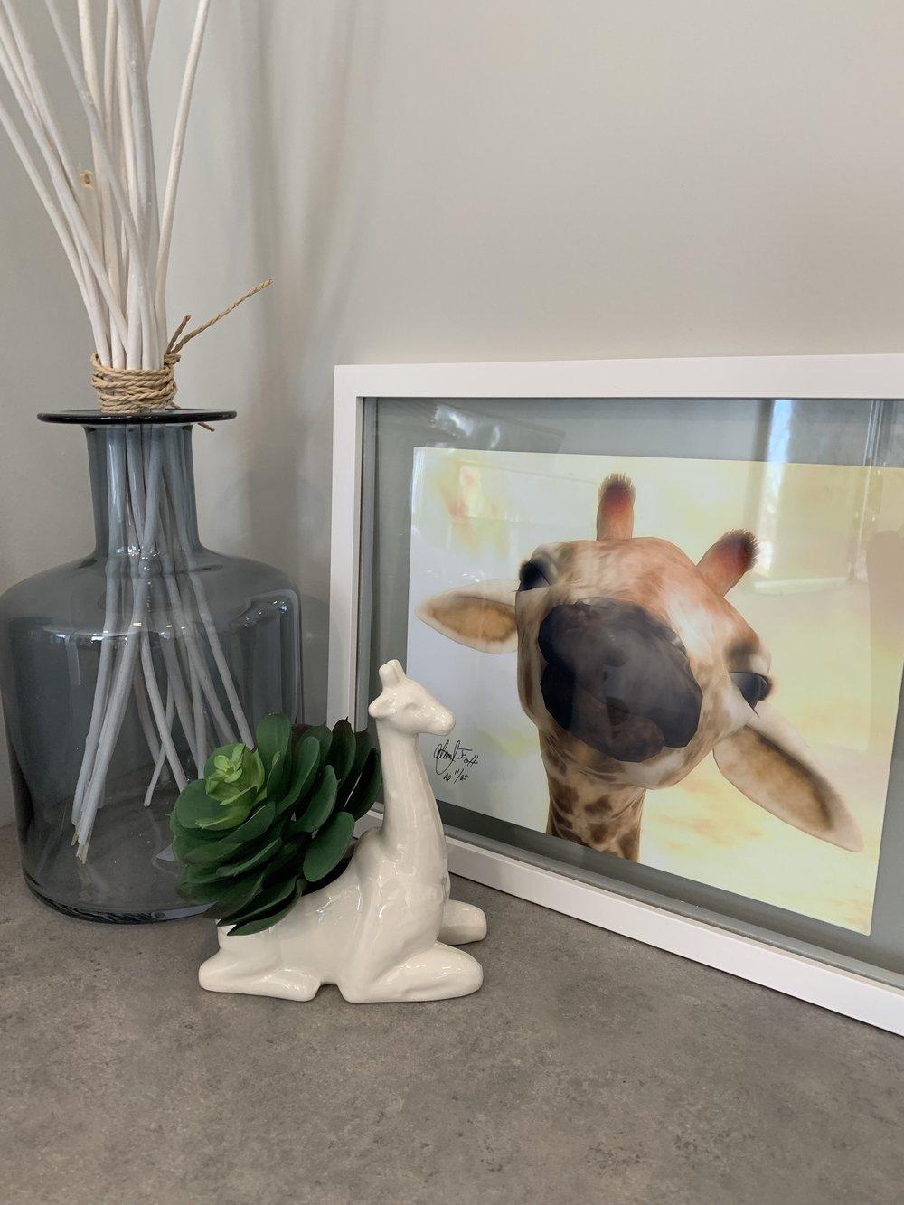 Thank you House Envy- Erin Poiry for the framed art