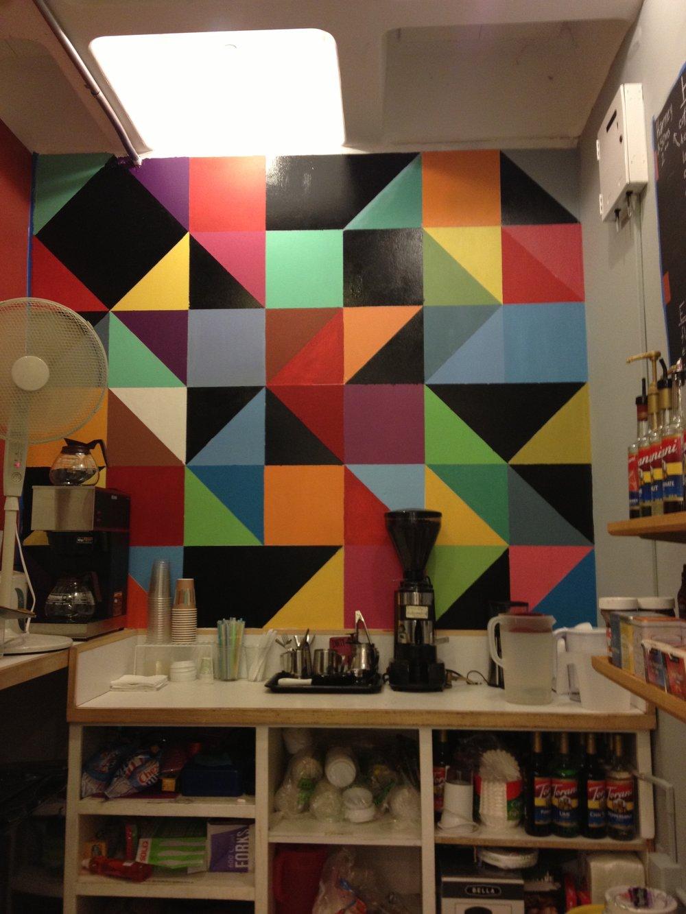 The Coffee Closet Interior II