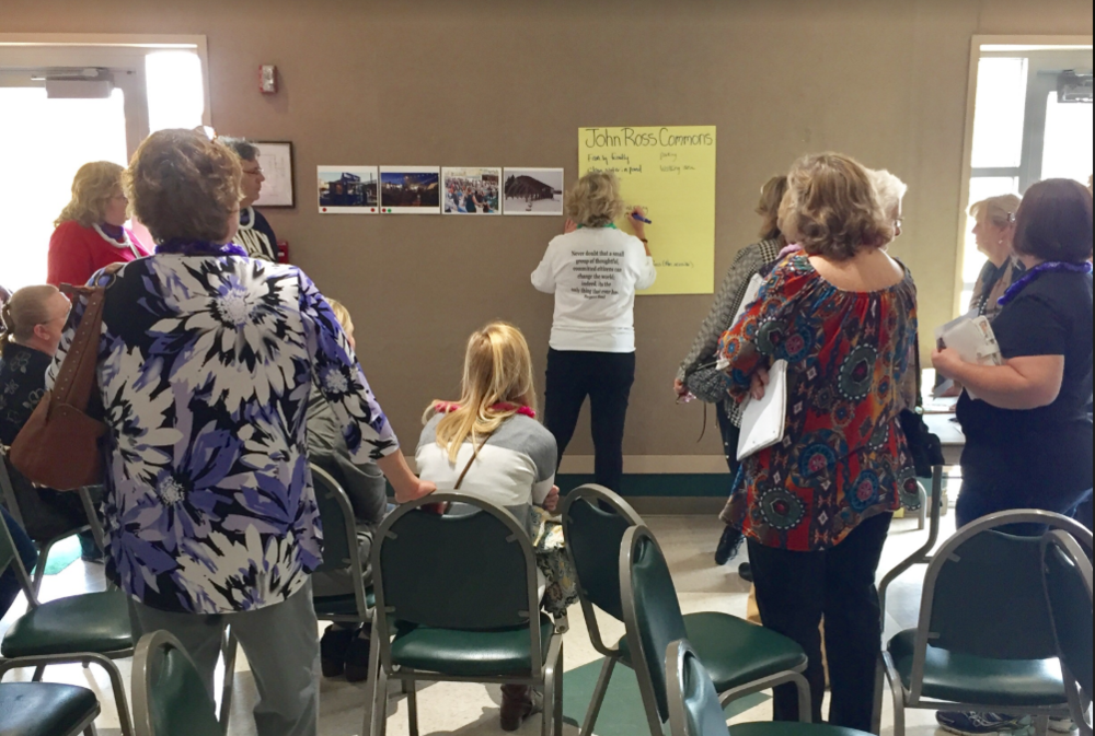 Mapping community assets in Rossville, GA