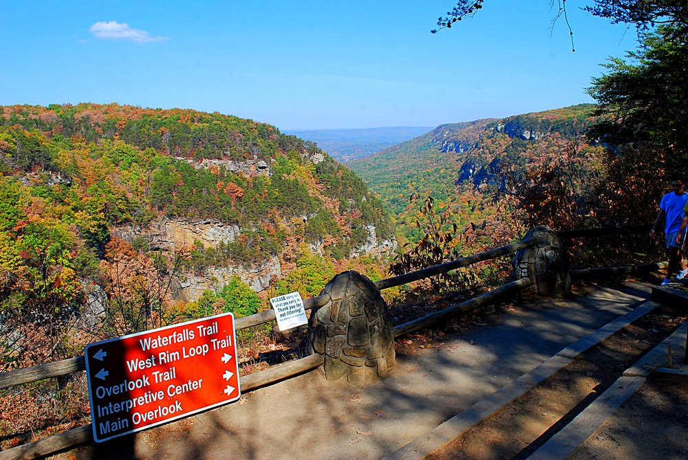 View from the park's primary trailhead. Photo: Bob Butters