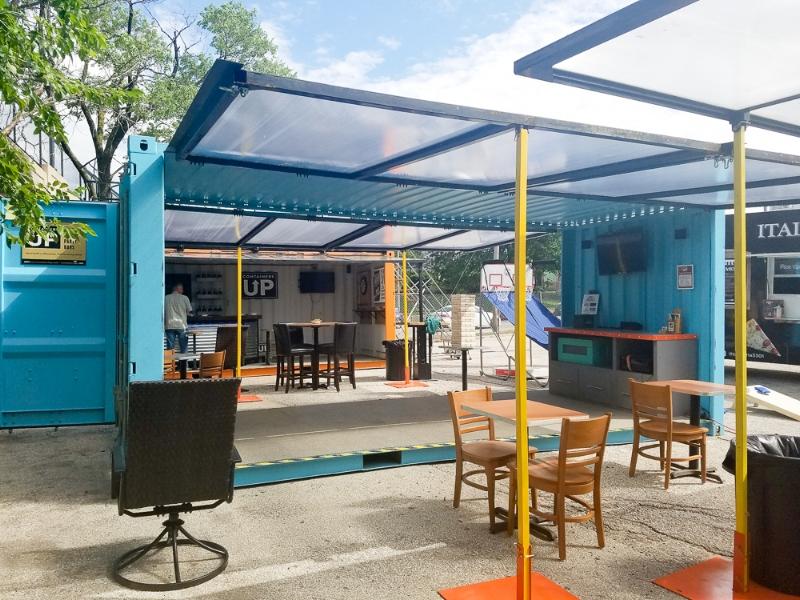 Pop-Up Lounge (Blue)