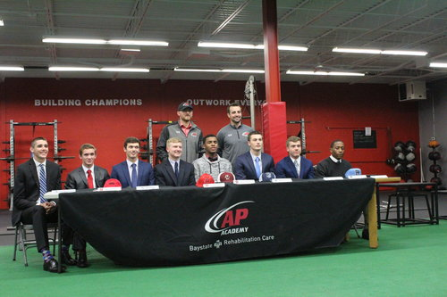Baseball Athletes Sign National Letters Of Intent  Advanced