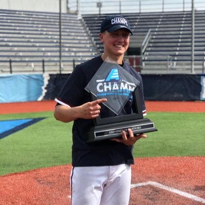 Drew Demartino was named Most Outstanding Performer at the 2018 America East Conference tournament helping Hartford win it's first ever conference championship and DI NCAA Regional birth.