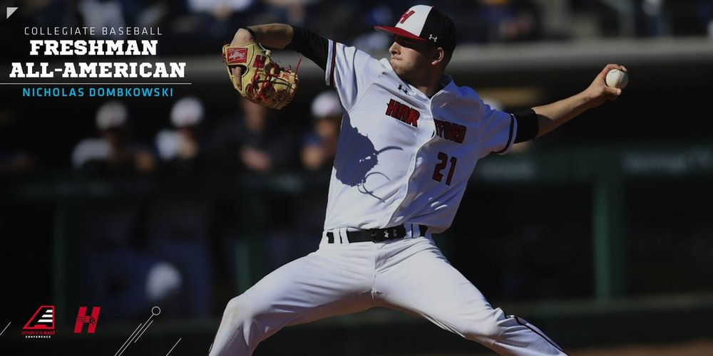 Nick Dombkowski is the first APA Prep Academy All-American after a stellar 2018 campaign for the University of Hartford. Nick was a 3-year member of the Prep Program prior to his Freshmen year at Hartford.