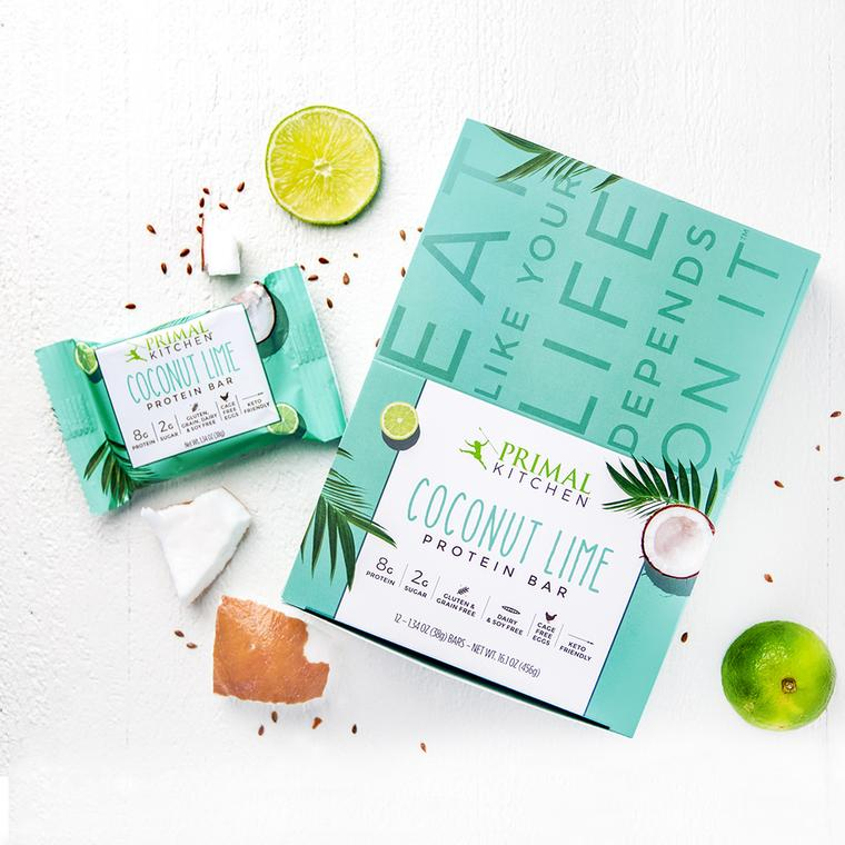 Coconut Lime Protein Bar