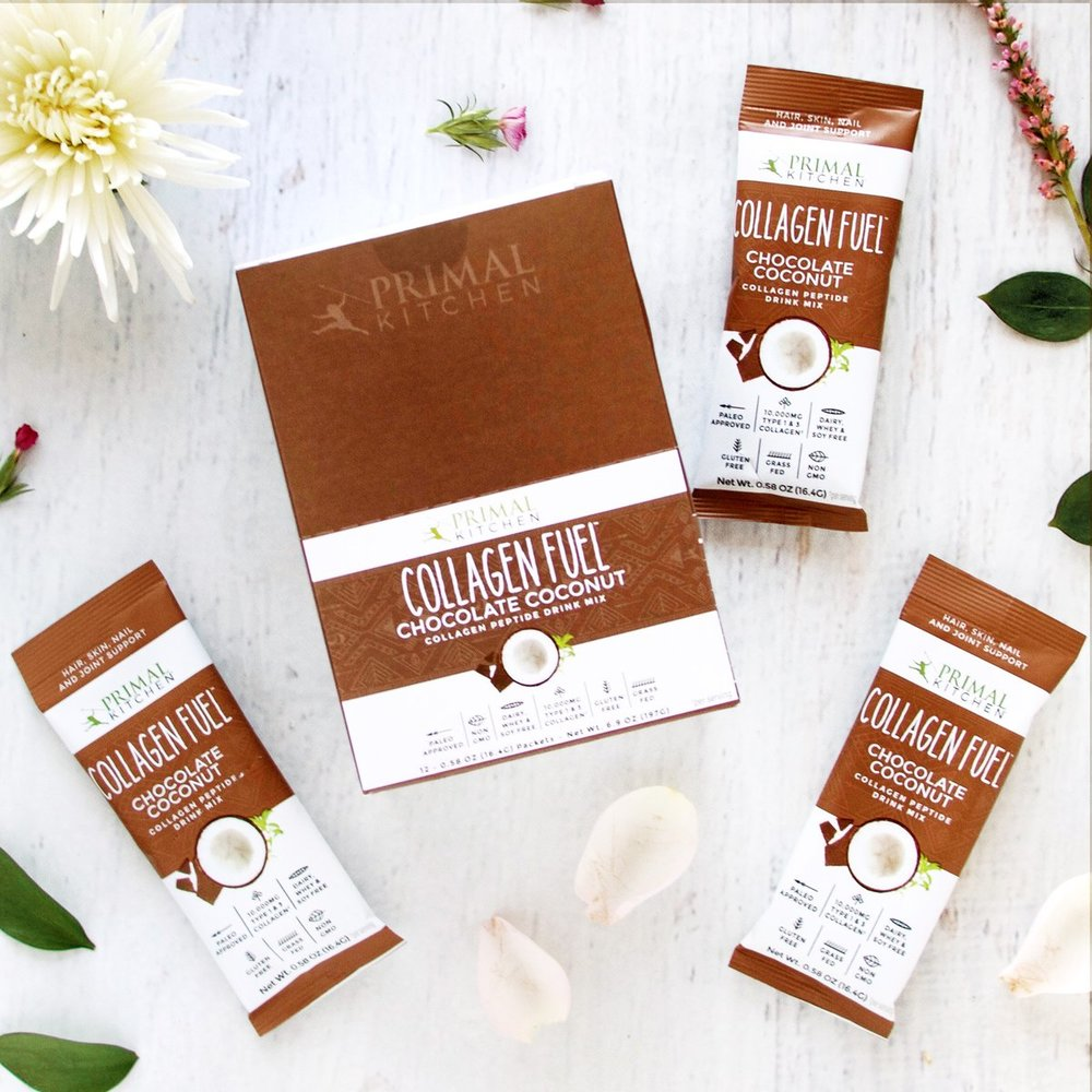 Chocolate Collagen Fuel, Single Serve Packs