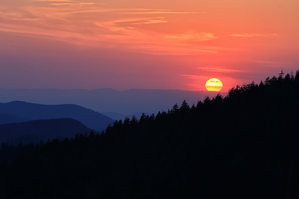 great smoky mountains - APRIL 2018