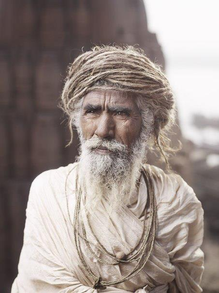 Photo of Sadhu Ram Das of Varanasi by Joey L