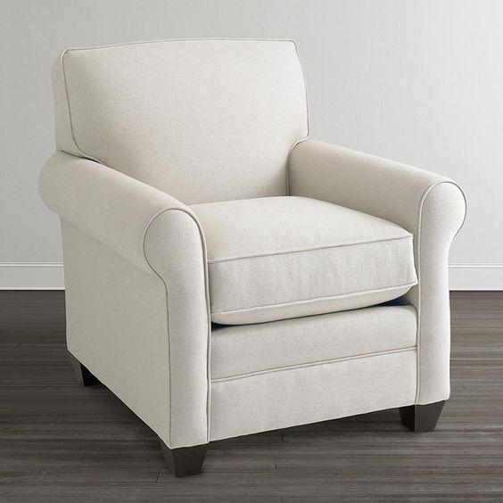 Harris Roll Arm Chair $799.00 Sold By Bassett Furniture
