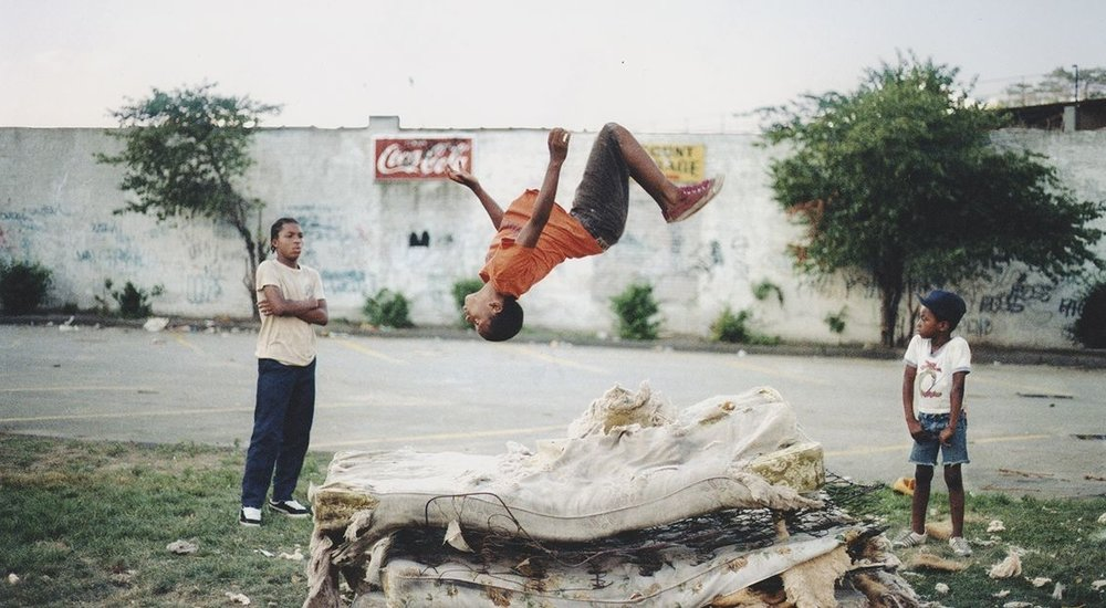 Flying High  by  Jamal Shabazz , which was used for the  Undun  album cover