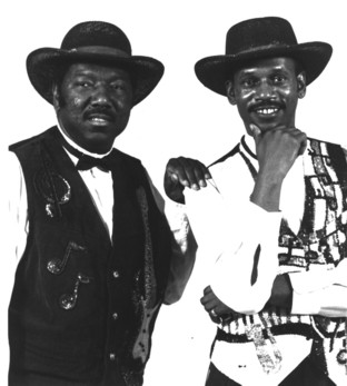 The Winstons drummer Gregory Sylvester Coleman, right.