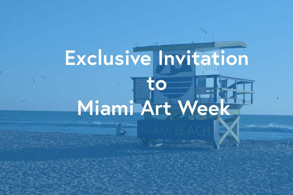 Miami Art Week's Mission - is to promote & support emerging & established artists, galleries, arts organizations & appreciation of the arts, on an international stage