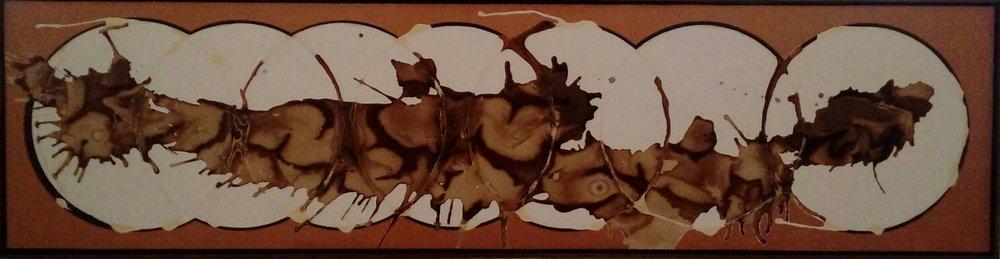 AR 1608 -  Gilberto Salvador  - 50 x 200 -  Cafe da manha - 2016 -Tecnica Mista sobre Papel.jpg