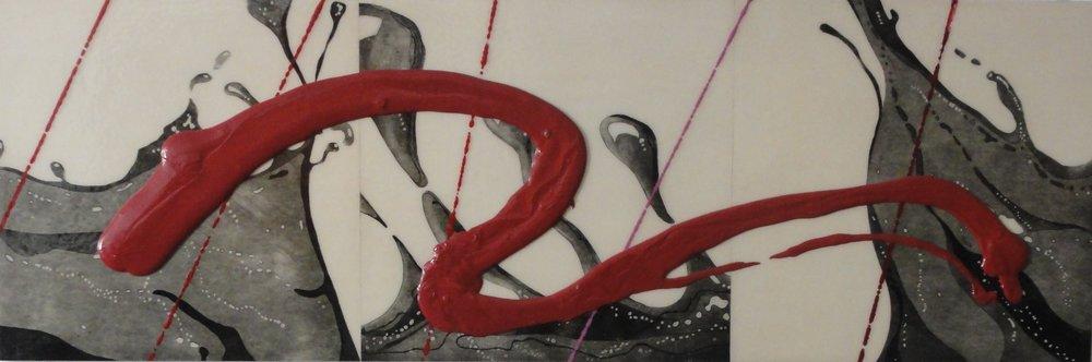AR 1602 -  Gilberto Salvador - 70 x 180  - Red Wind - 2015 -  Tecnica Mista.JPG