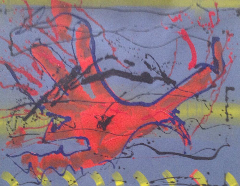 AR 1765 - Gilberto Salvador - 81 x 100 -Tecnica Mista Sobre Papel.JPG