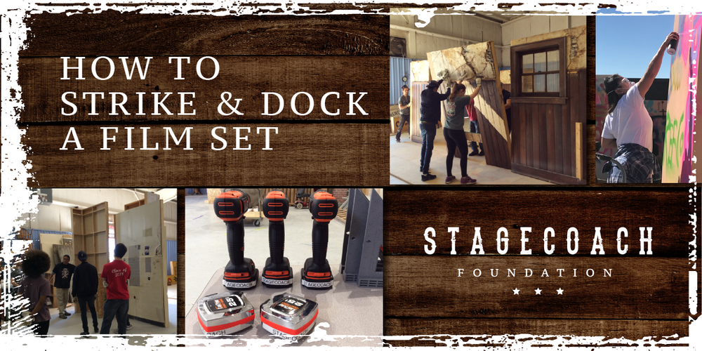 How to Strike and Dock a Film Set Workshop