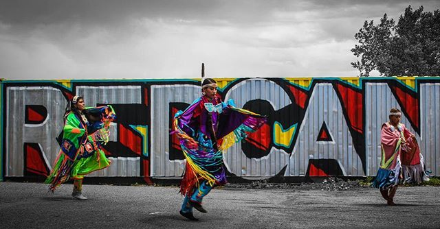 #RedCan coming up June 29-July 1 #art #rezolution #graffiti #lakota #cryp #wingspan