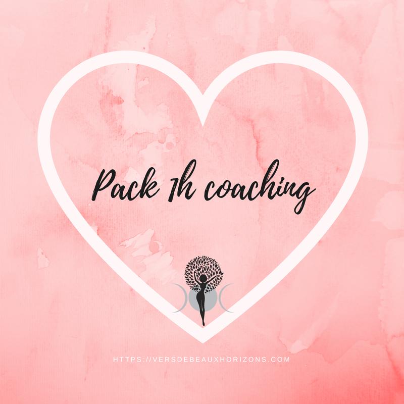 Pack de 1h de coaching individuel avec Céline Via Skype ou Zoom