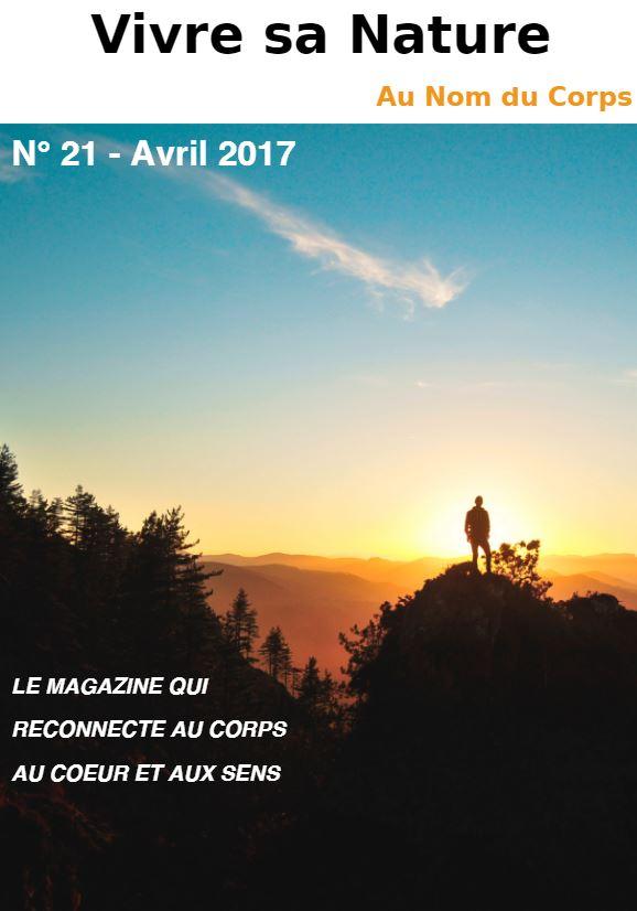 couverture du magazine vivre de sa nature avril 2017.JPG
