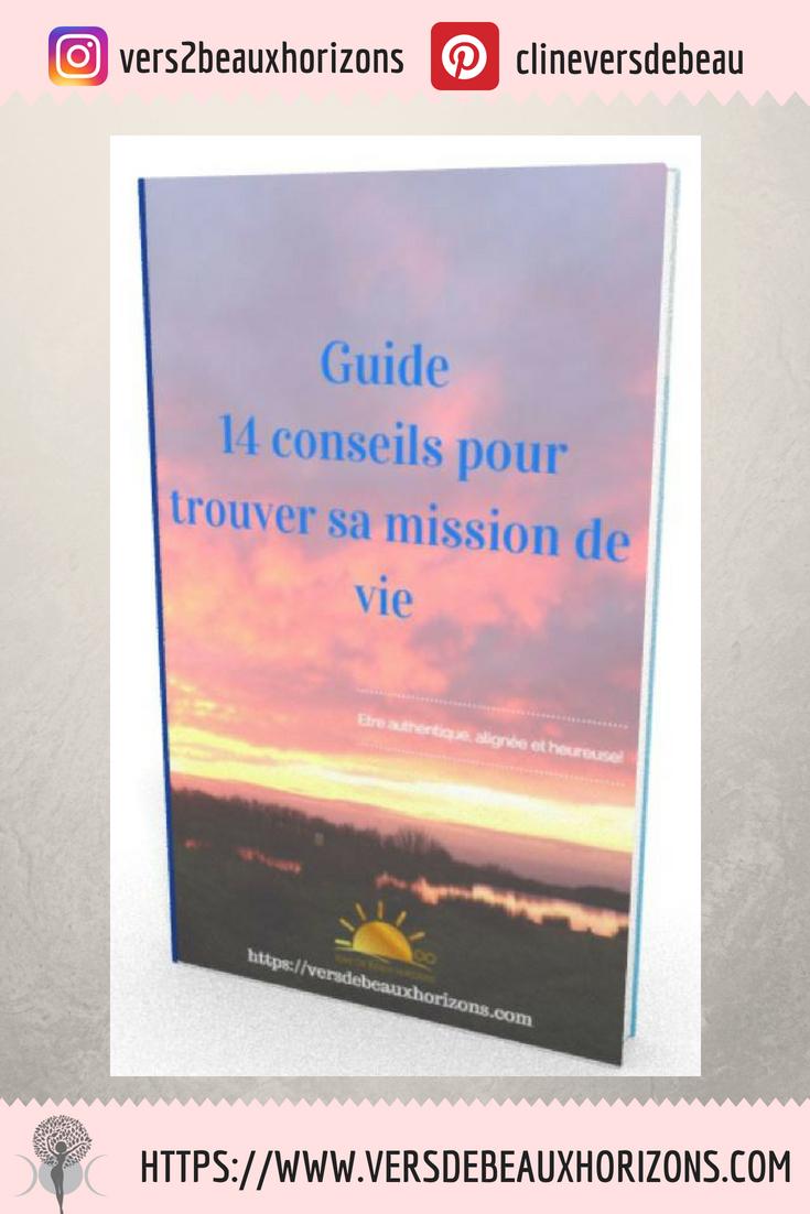 Envie d'explorer quelle est ta MISSION DE VIE? -