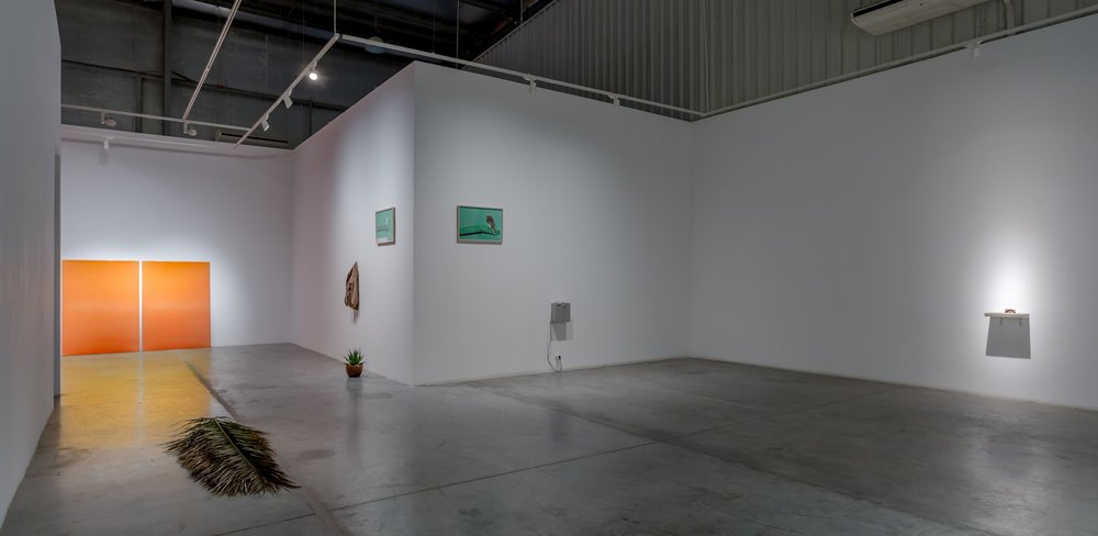 Installation view / SOLAR FLARE, ALWAYS RED