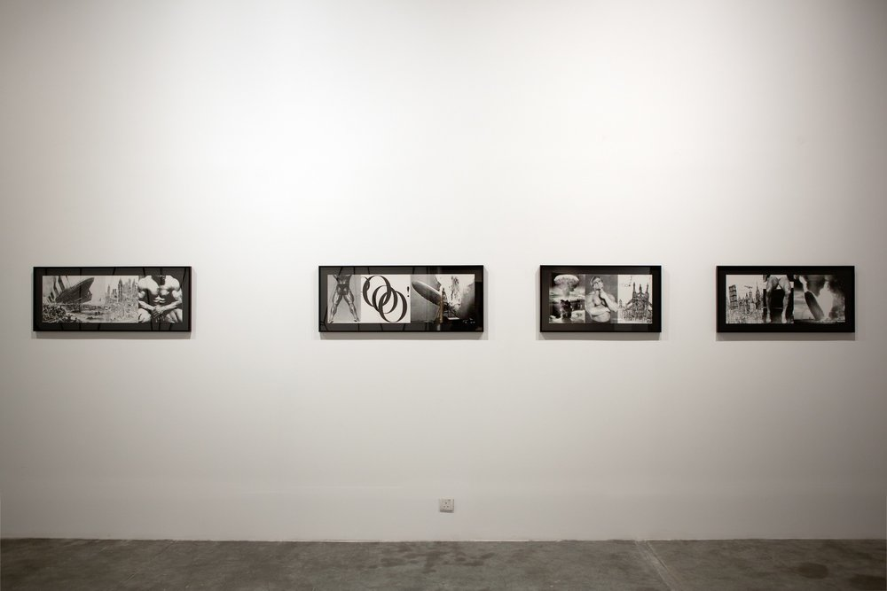 Installation view / House of Cards