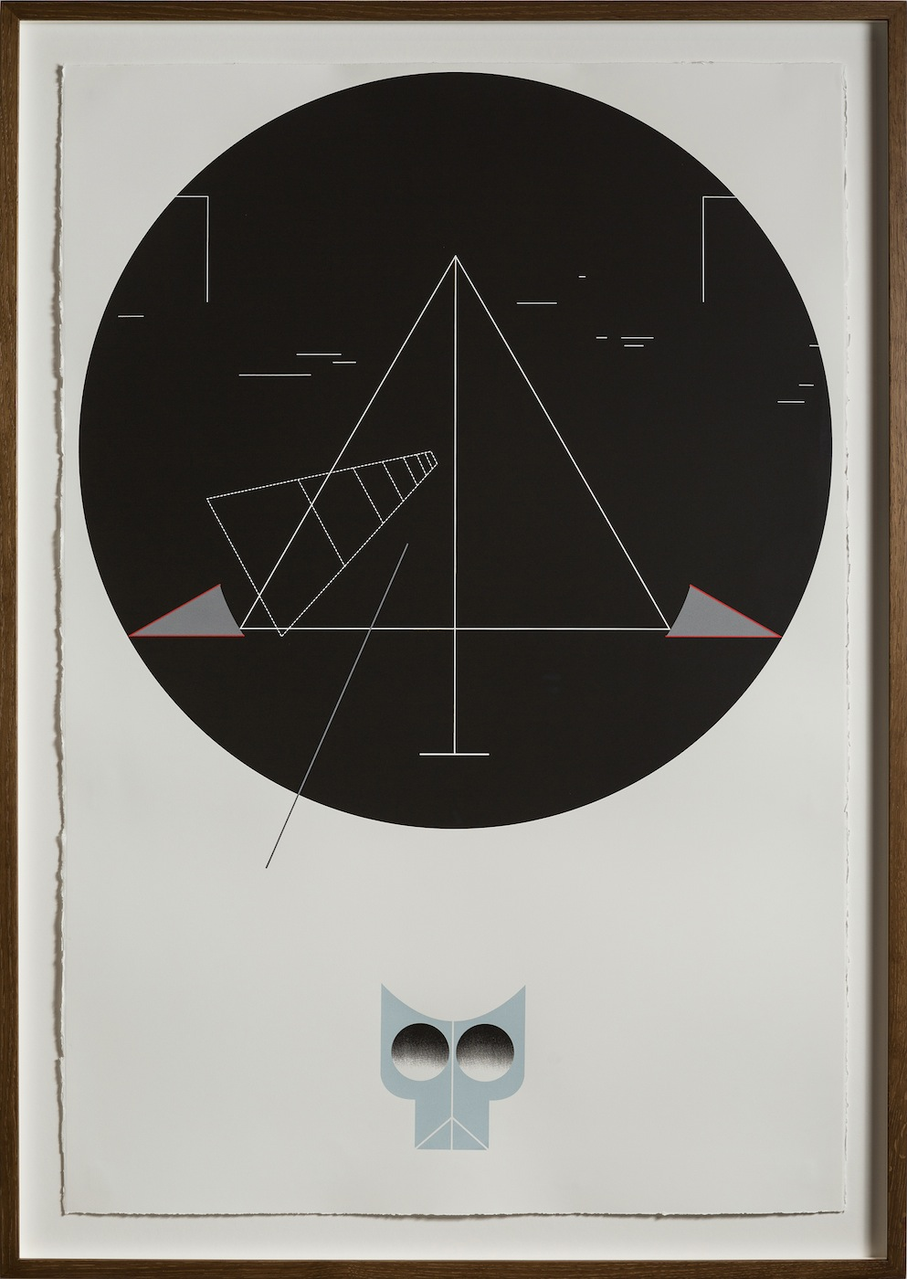 Night Walk 2013 Screen print on paper 112.5 x 76.5 cm Edition 5 + 1 AP