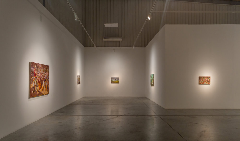 Installation view / Enclosure, Benjamin Senior