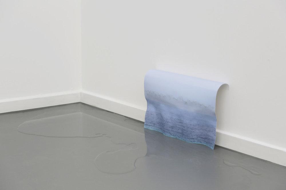 Stéphanie Saadé  Reverse sea 2014 Water, photograph 21 x 29.7 cm