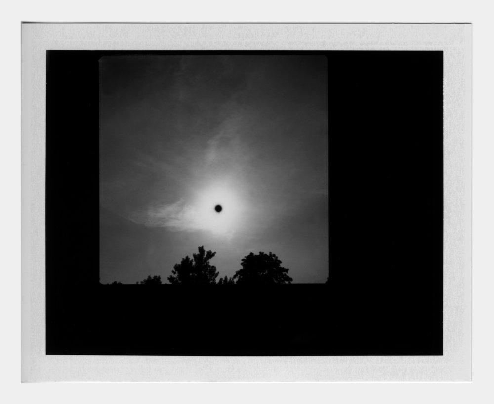 Michael John Whelan  Transit of Venus (1) 2012 Polaroid, framed 22 x 24 cm