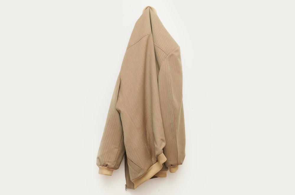 Solaro 2016 Custom-made Solaro™ fabric bomber jacket Dimensions variable