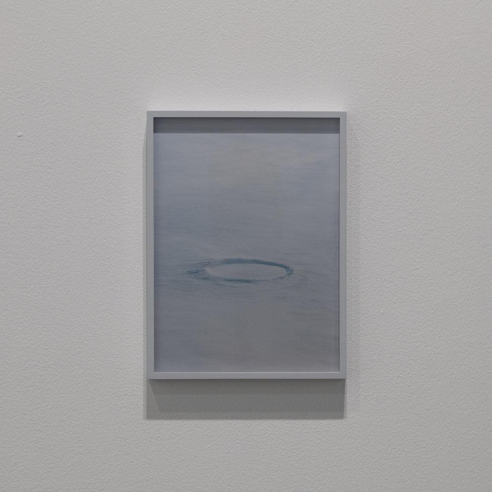 Daniel Gustav Cramer  A crater (I) 2017 Framed c-print 27 x 20 cm Edition 1/3