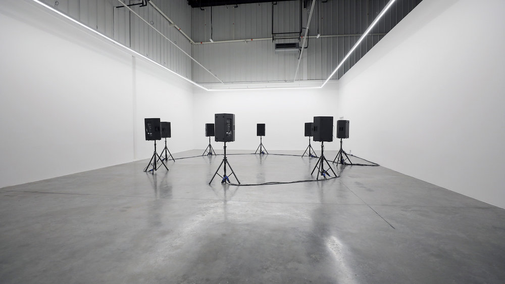 Michael John Whelan   Hydrogen Helium 2018 Eight channel sound installation 2:51 minutes continuous loop Dimensions variable