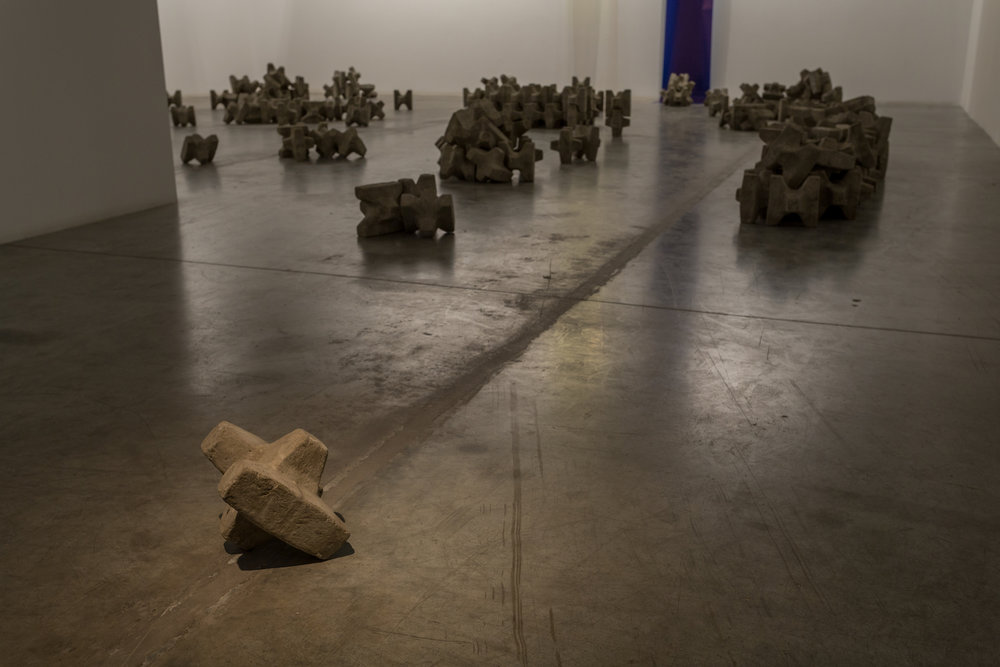 Caline Aoun  Rhythm Breakers  2015 Concrete Dimensions variable