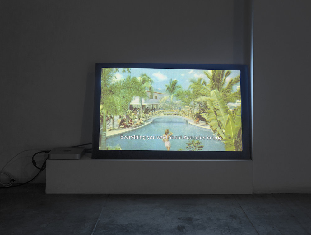 Installation view  Pauline Bastard The Travelers 2011 HD video 00:14:00 loop Edition of 5 + 2 AP