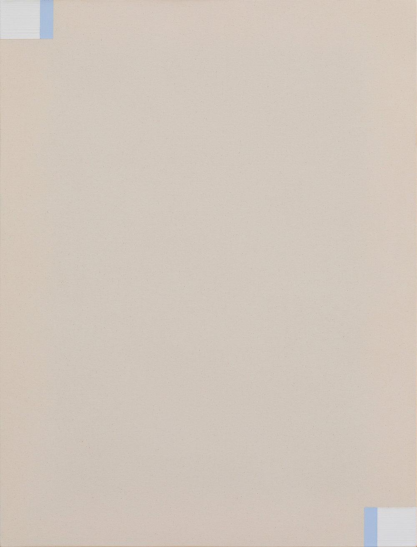 Fahd Burki  Untitled 2 2018 Acrylic gesso on canvas 84 x 64 cm