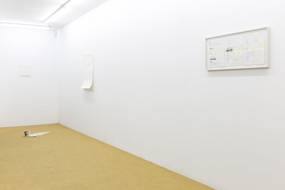 Installation view / CONDO Unit Athens hosted by The Breeder