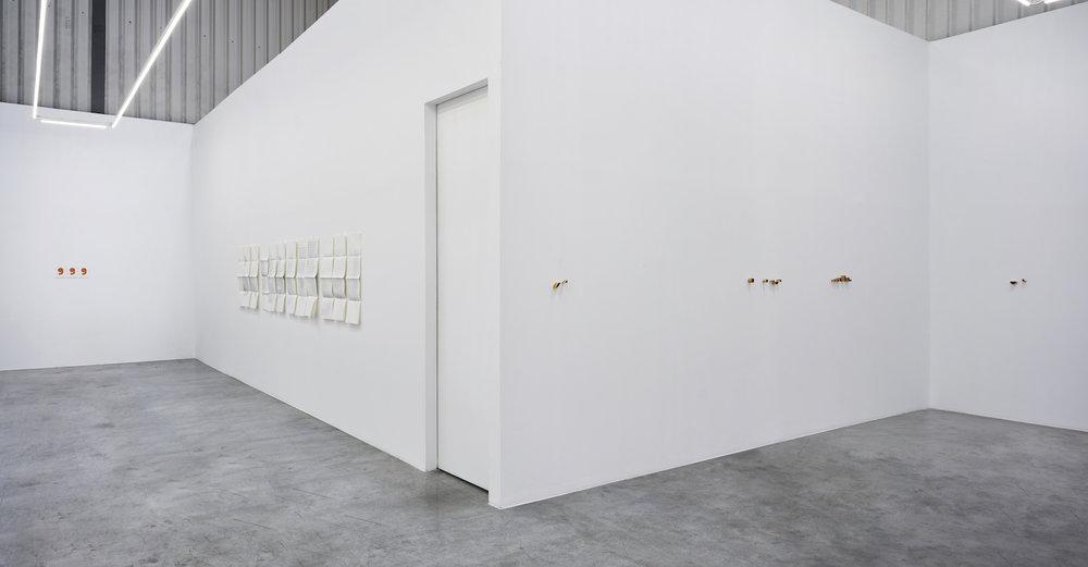 Installation view | alphabets