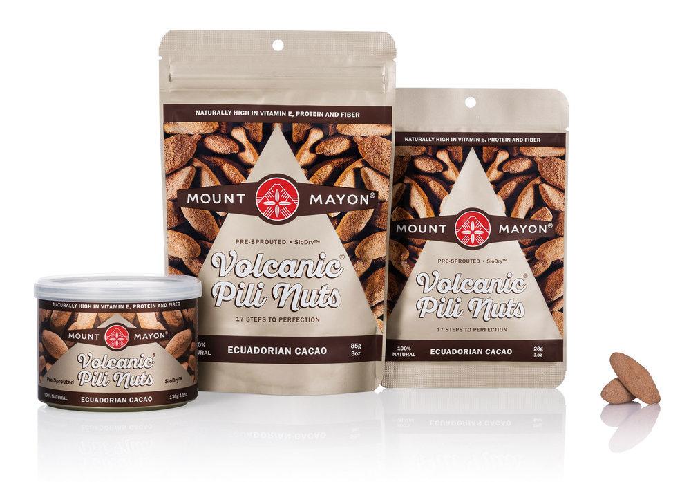 Ecuadorian Cacao Pili Nuts///Noix de pili au cacao d'Équateur