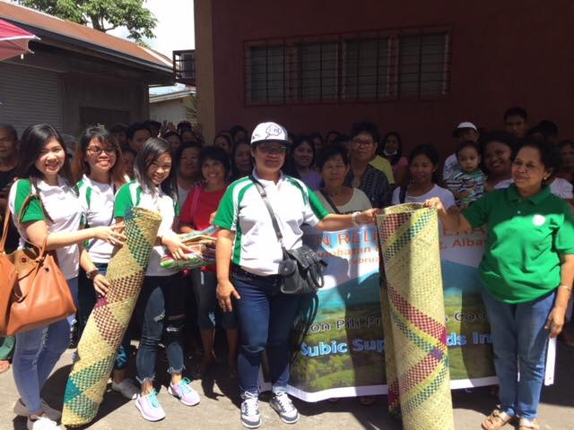 Workers from Subic Superfoods Inc Factory in Bicol