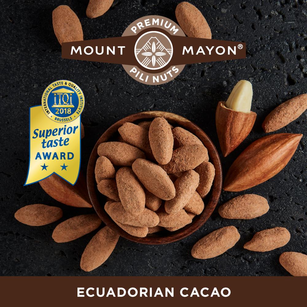 Ecuadorian Cacao Premium Pili Nuts///Noix de pili au cacao d'Équateur
