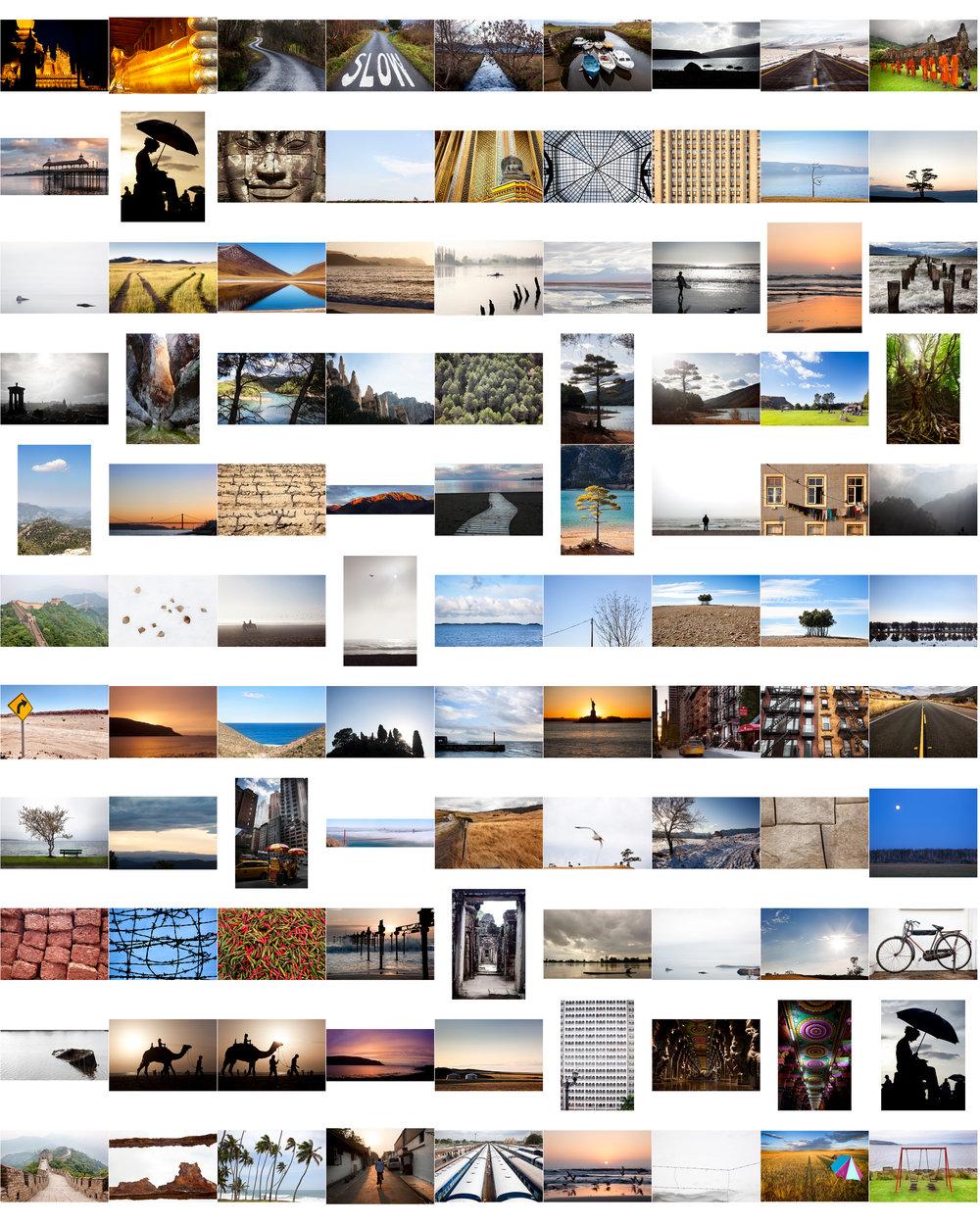 Cada semana iremos lanzando diferentes imágenes para que puedas elegir la que mas te guste