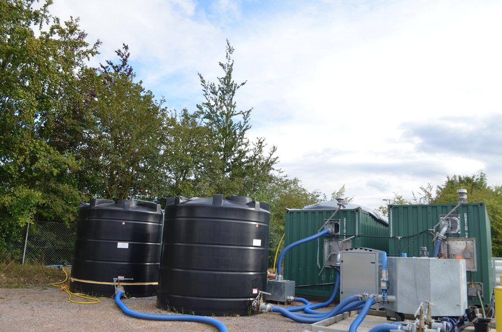 7kWe CHP + Biomethane Upgrader